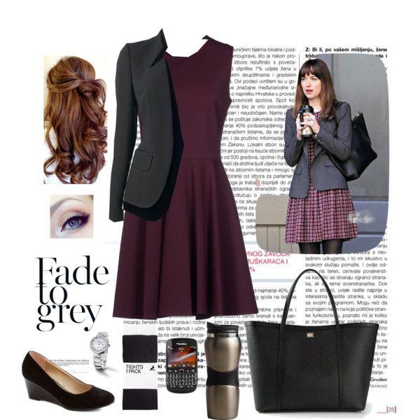 Ana steele's outfit