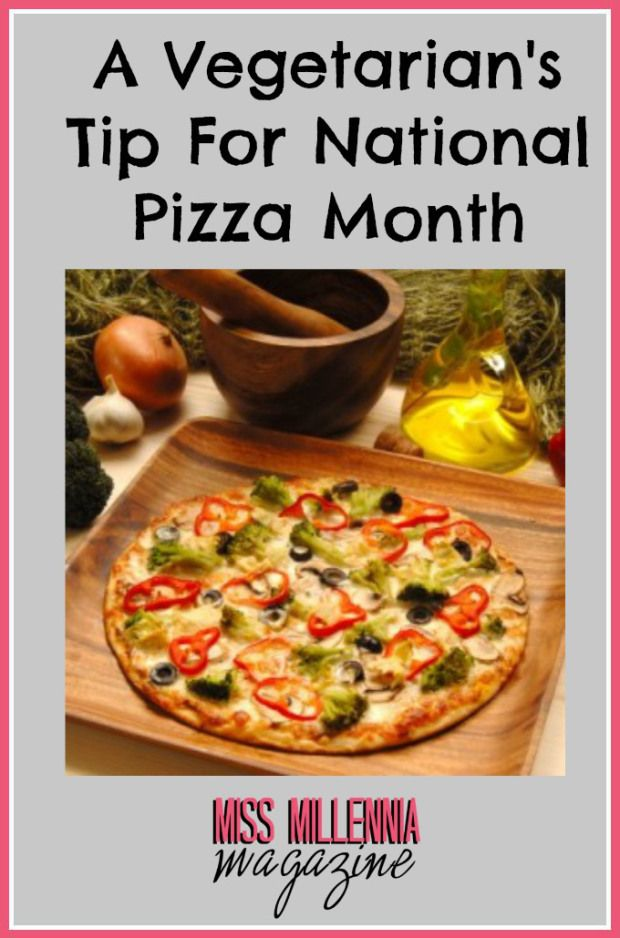 A Vegetarian's Tip For National Pizza Month #sauce 3RECIPE