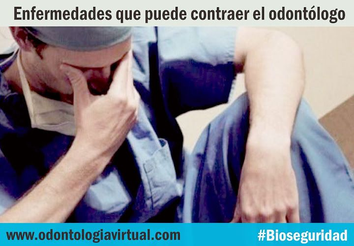 BIOSEGURIDAD: Enfermedades que puede contraer el Odontólogo   Ovi Dental