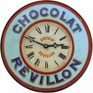 Nástěnné hodiny do obývacího pokoje - Chateau Revillon
