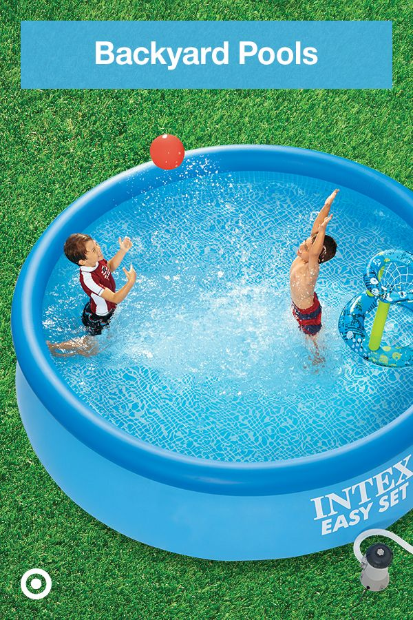 Set Up A Swimming Pool In Your Backyard With Above Ground Pool Ideas For Chilled Out Summer Activities Backyard Fun Backyard In Ground Pools