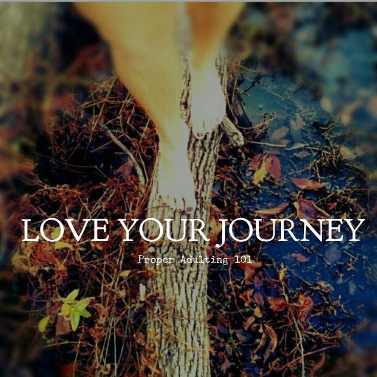 Love the journey of life!