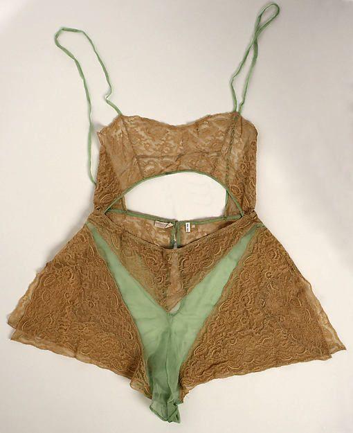 Teddy Date: 1925–35 Culture: American Medium: silk Accession Number: 2003.197.10