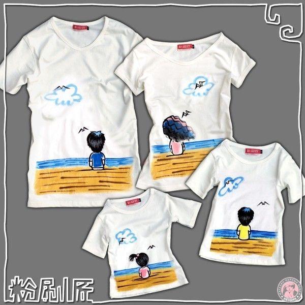 """Семейные футболки """"Любовь и море"""" для родителей и дочки от 5 300 руб: лучшая цена и магазины, где купить"""