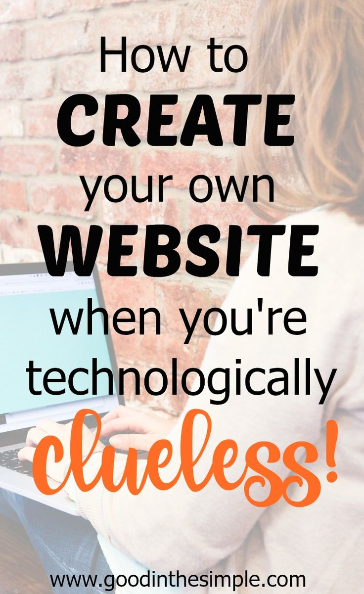If you want to create your own website for a blog, small business, or any other purpose, it can seem totally intimidating if you're technologically clueless. I did not know ANYTHING computer-related when I started my website, so I'm sharing how I did it to show others that it's not as scary as it seems!