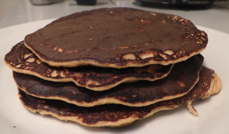 Sweet potato protein pancakes