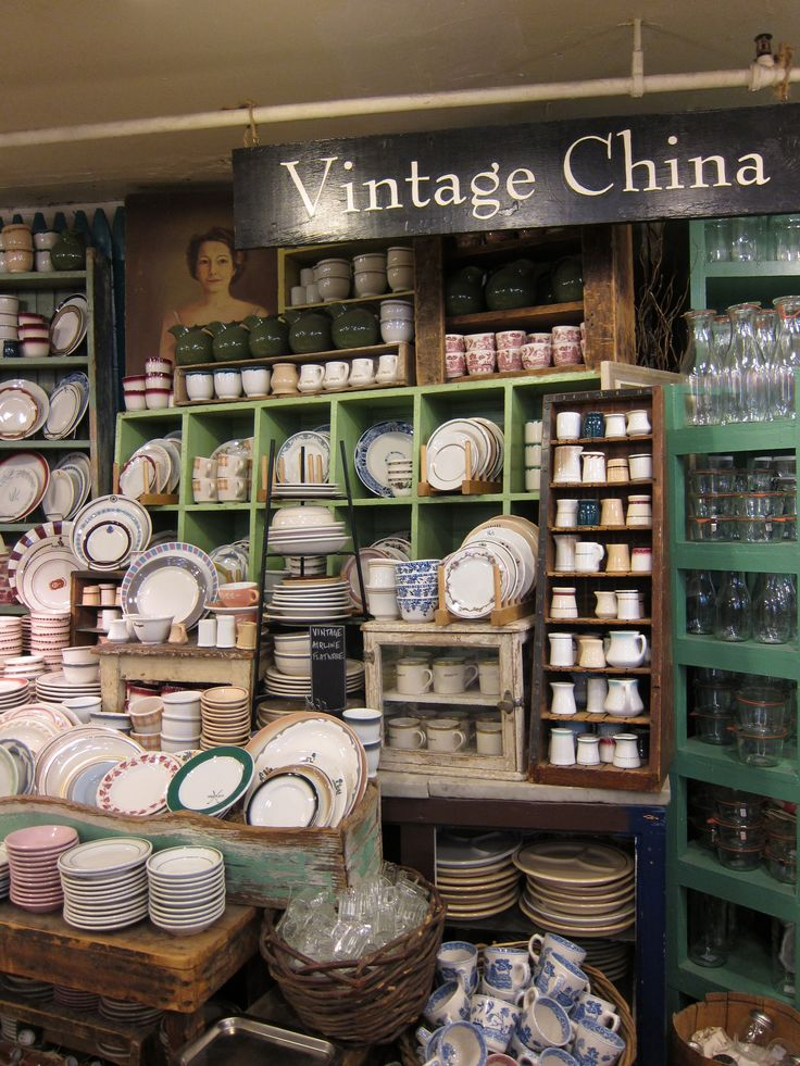 Fish Eddy, NY. You could find almost everything you need, even vintage style plates and ceramics