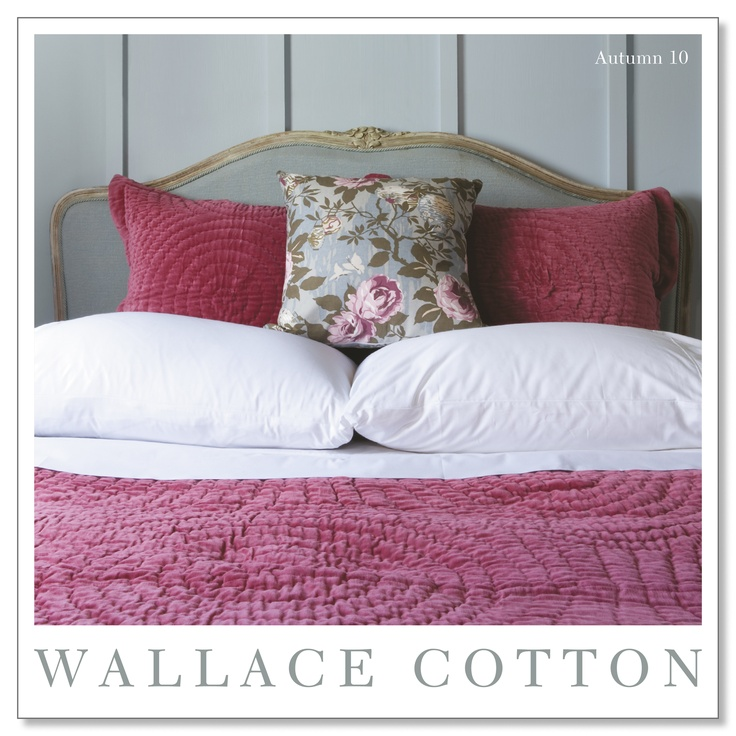 WC Autumn 2010  #bedding #bed #wallacecotton