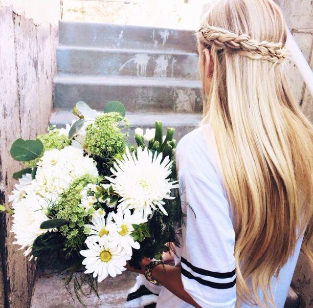 bouquet + braids