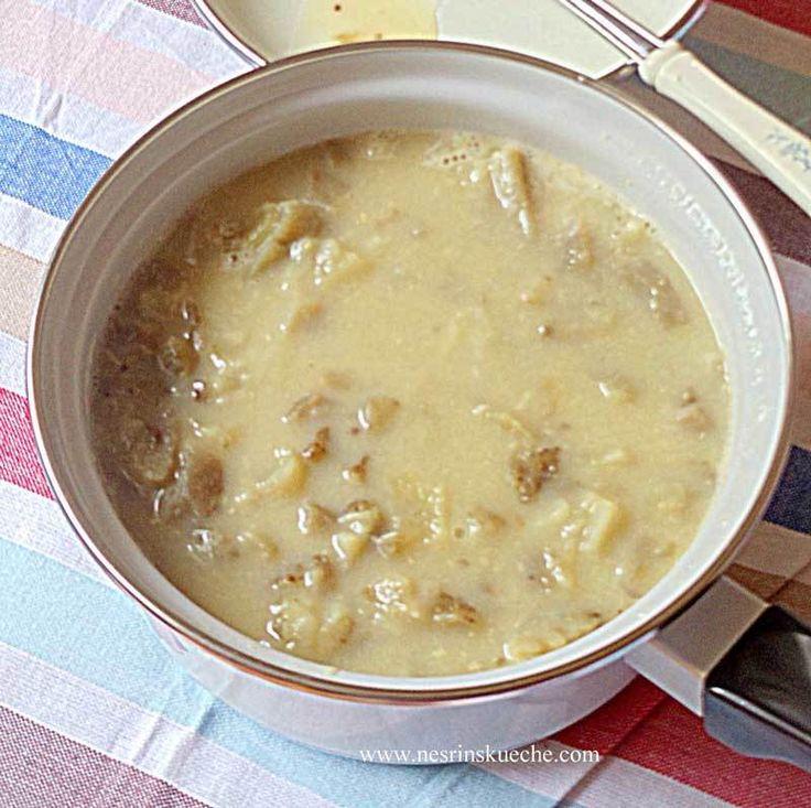 Patlıcan Çorbası (Hünkar Çorbası)                        -  Nesrin  Kismar #yemekmutfak