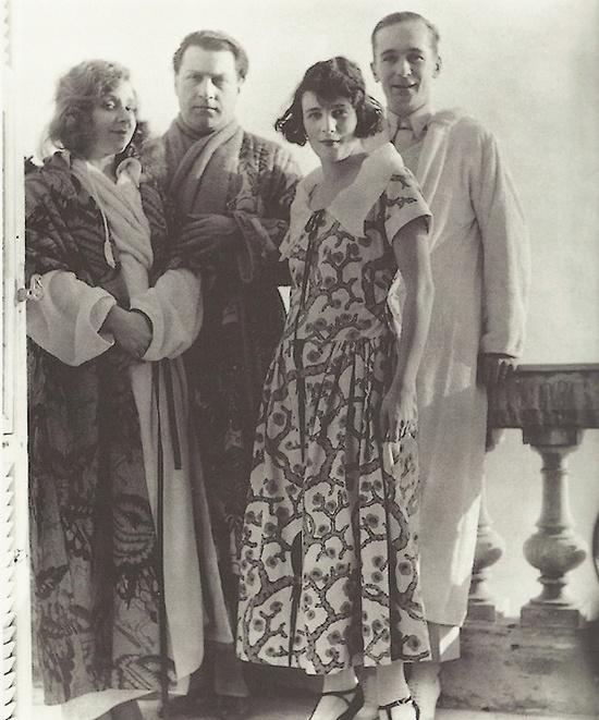 Jacques-Henri Lartigue- Yvonne Printemps, Sacha Guitry, Bibi et moi, Cap d'Ail, janvier 1923