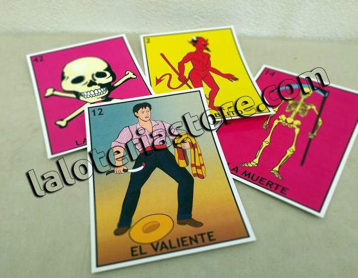 Summer Sale Loteria 5x7'' combo El valiente la