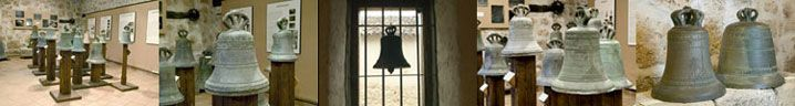 TOQUES DE CAMPANA Pueden escucharse los siguientes toques: 1. Toque de coro, 2. Toque de misa, 3. Toque solemne 4. Toque de Angelus, 5. Toque de horas 6. Toque de domingos y festivos 7. Toque de alarma con avisos