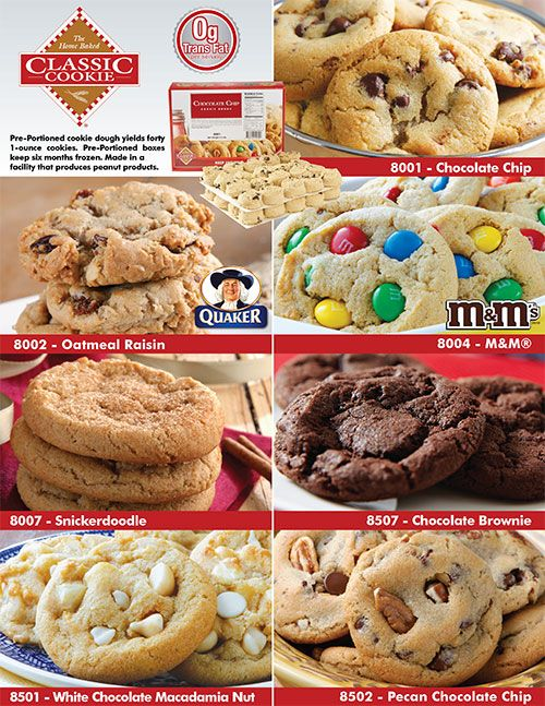 Classic recipes cookie dough fundraiser