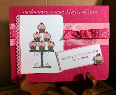 Stampin' Up! Crazy for CupcakesHappy Birthday, Birthday Cards