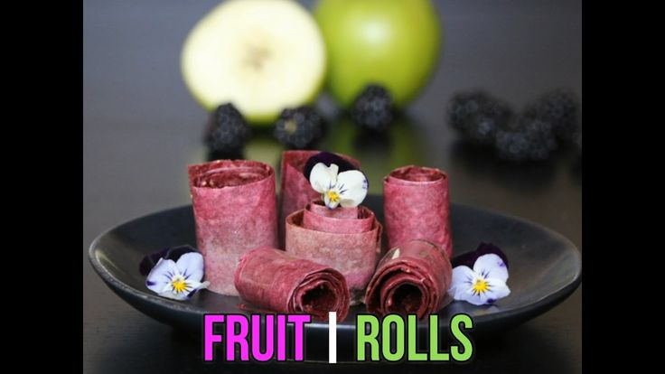 BLACKBERRY & APPLE FRUIT ROLLS Here is a really easy recipe for a healthy treat - fruit rolls. Your kids will love the flavours - and you will love that there is no refined sugar.  You can make these fruit rolls with any fruit combinations – whatever your kids prefer. Mango is very popular. Strawberry fruit rolls are also really great – although I tend to add some red apple to sweeten any tartness from the strawberries.  This video shows blackberry and apple fruit rolls – as the…