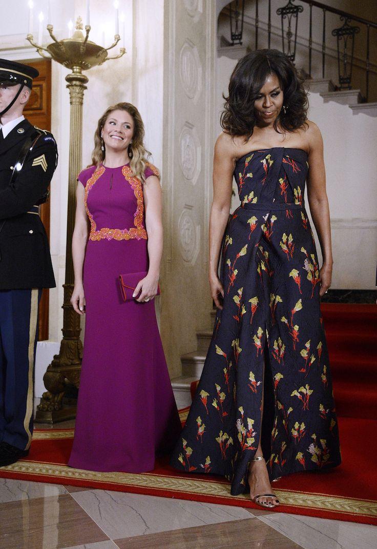 First Lady Michelle Obamau0027s Jason Wu Gown