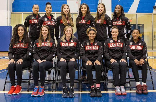 Canadian Women's Olympic Basketball Team Named    The Canadian Olympic Committee (COC) and Canada Basketball has named the twelve athletes nominated to represent Team Canada in womens basketball at the Rio 2016 Olympic Games from August 5 to 21. The team includes seven athletes who competed at the London 2012 Games: Natalie Achonwa Miranda Ayim Kim Gaucher Lizanne Murphy Michelle Plouffe Shona Thorburn and Tamara Tatham. First-time Olympic team members Nirra Fields Miah-Marie Langlois Kia…