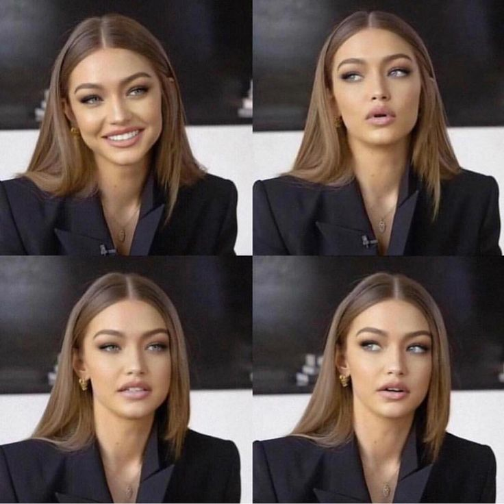 "Stylish Girls Worlwide on Instagram: ""Beauty @gigihadid 🖤😍 via @doses_of_style"""