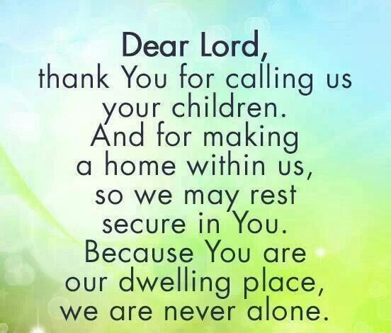 Thank You Lord For My Son Quotes: Prayer And Religious Quotes