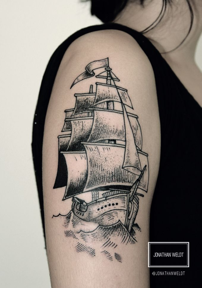 O tatuador Jonathan Weldt é de Santa Catarina e encontrou na tatuagem sua forma de autoexpressão e de se tornar conhecido pelo que faz.