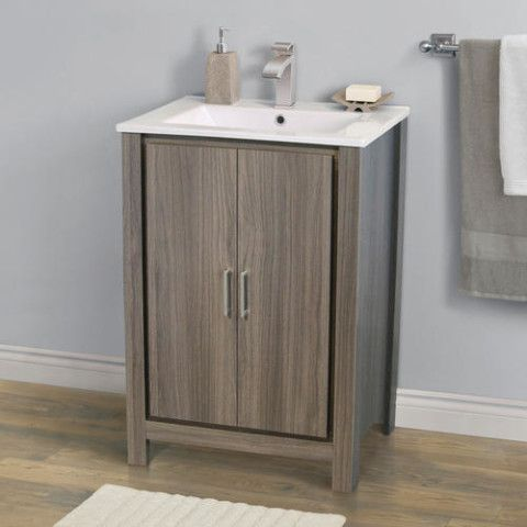 24 modena vanity base with top combo at menards - Menards bathroom vanities 48 inches ...