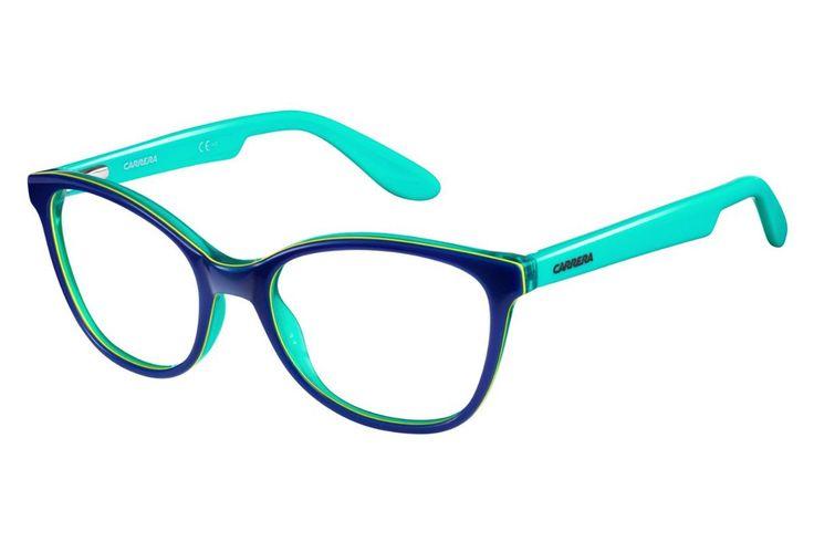 Carrera - Carrerino 50 Blue / Lime Green Rx Glasses