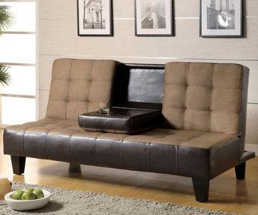 Tan Transitional Sofa Bed transitional-sofa-beds