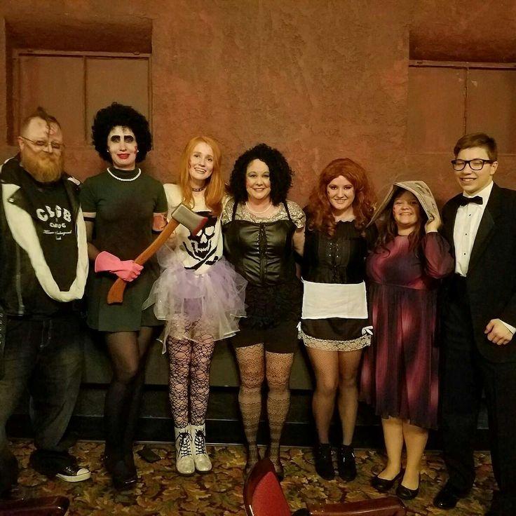 Rocky Horror Picture Show at Joplin Little Theater 2016. #Meatloaf  #Eddie  #Doyle  #frankenfurter  #brad #janet #Mifits  #Columbia  #RockyHorror  #halloween  #joplin #doylewolfgangvonfrankenstein