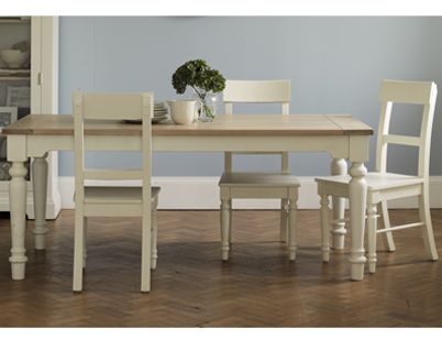 With Its Country Cottage Inspiration The Dorset Range Is A Simple And Stylish Collection Crafted From White Dining TableDining TablesDining RoomLaura