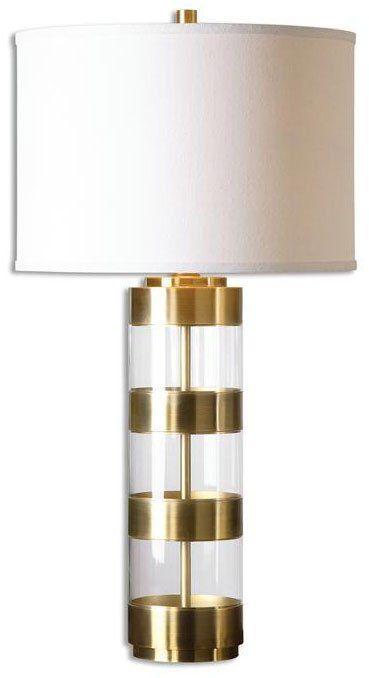 Minor Details HOME: David Frisch 26669-1 Angora Transitional Table Lamp UM-26669-1