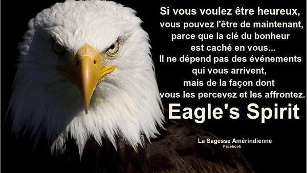 Esprit de l'aigle...