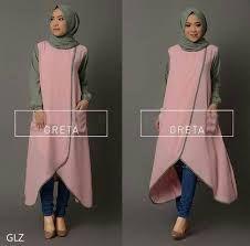 Image result for model tunik hijab