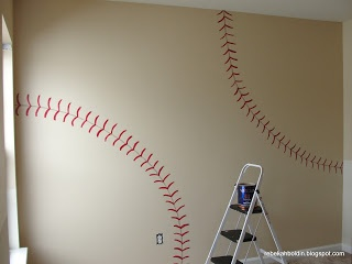 Simply Mom: Play Ball Baseball Wall