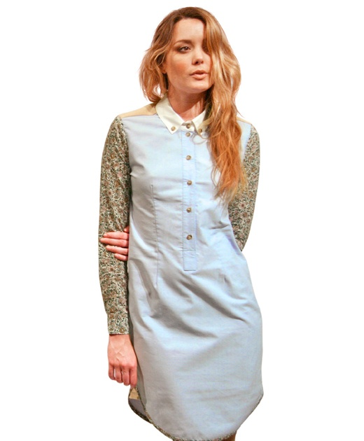 Florence Dress in Blue Floral by Zoologie $239