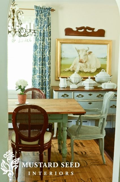 Miss Mustard Seeds Ever Transforming Dining Room