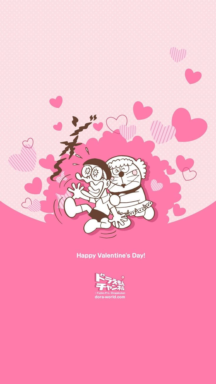 Kawaii Valentine Iphone Wallpaper | ipcwallpapers in 2020 ...