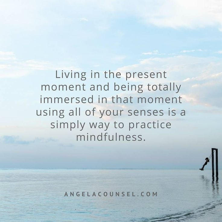 Living in the present moment and being totally immersed in that moment using all of your senses is a simple way to practice mindfulness #stressfreeliving #angelacounsel #secretmumsbusiness