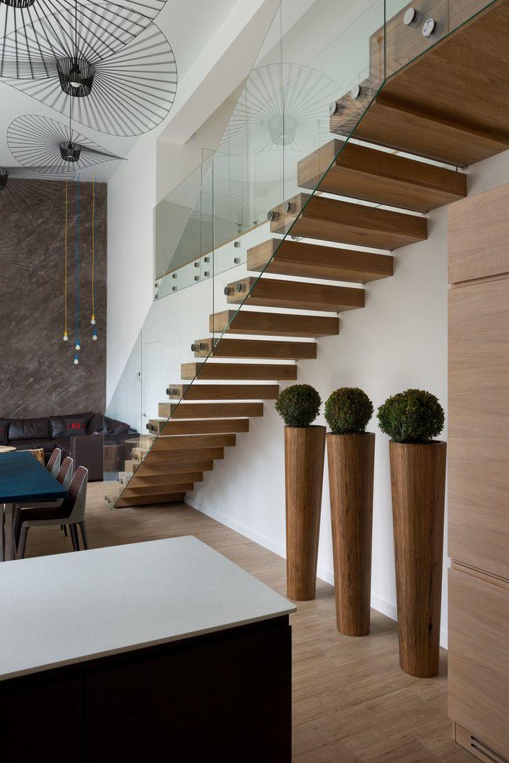 Yakusha Design, частные дома в пригороде Киева, красивые дома на Украине,  дом в