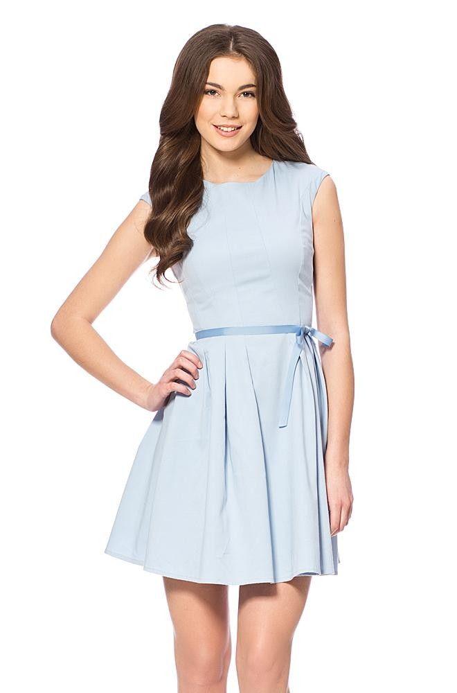 Kleid blau orsay