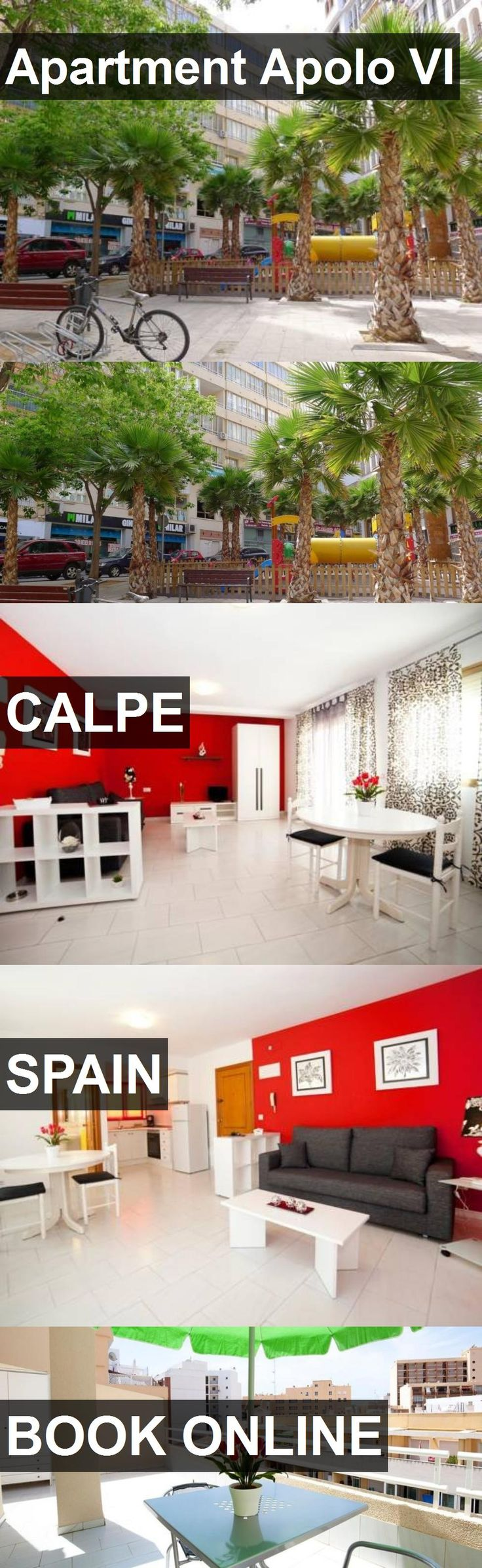 Apartment Apolo VI in Calpe, Spain. For more information, photos, reviews and best prices please follow the link. #Spain #Calpe #travel #vacation #apartment