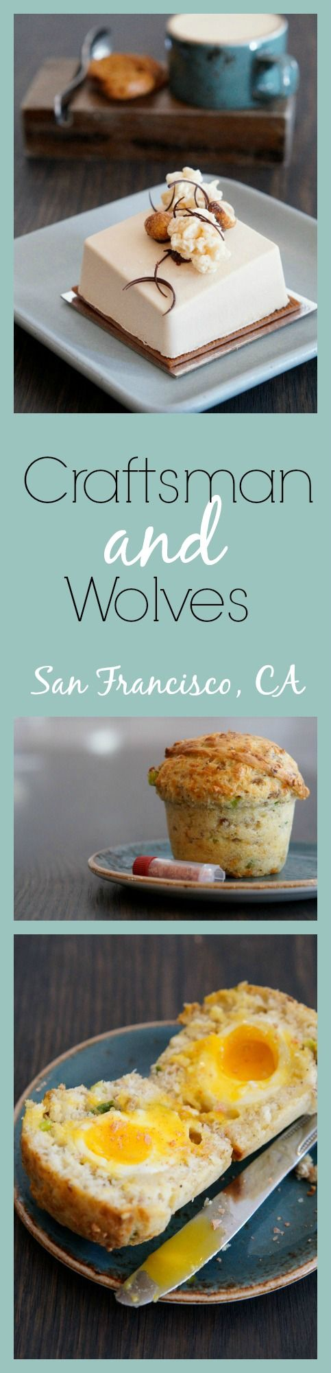 Craftsman and Wolves, a unique bakery/cafe in San Francisco, CA