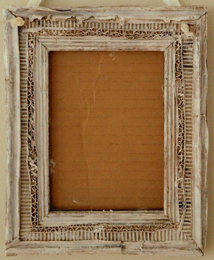 how to make frames out of cardboard