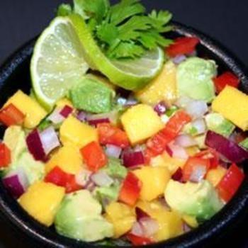 Avocado Mango Salsa: Avocado Mango Salsa, Fun Recipes, Avocado Salsa, Mango Salsa Recipes, Savory Recipes, Eating, Appetizers, Healthy Recipes, Salsa Allrecipescom