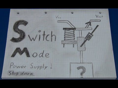 Switch Mode Power Supply / Regulator (Tutorial with basic example) - Ec-Projects - YouTube