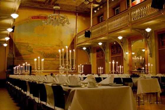 Møder, konferencer og receptioner i historiske omgivelser