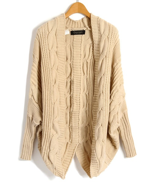 Cable Knit CardiganCable Knit