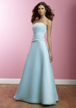robe bustier de demoiselle d'honneur