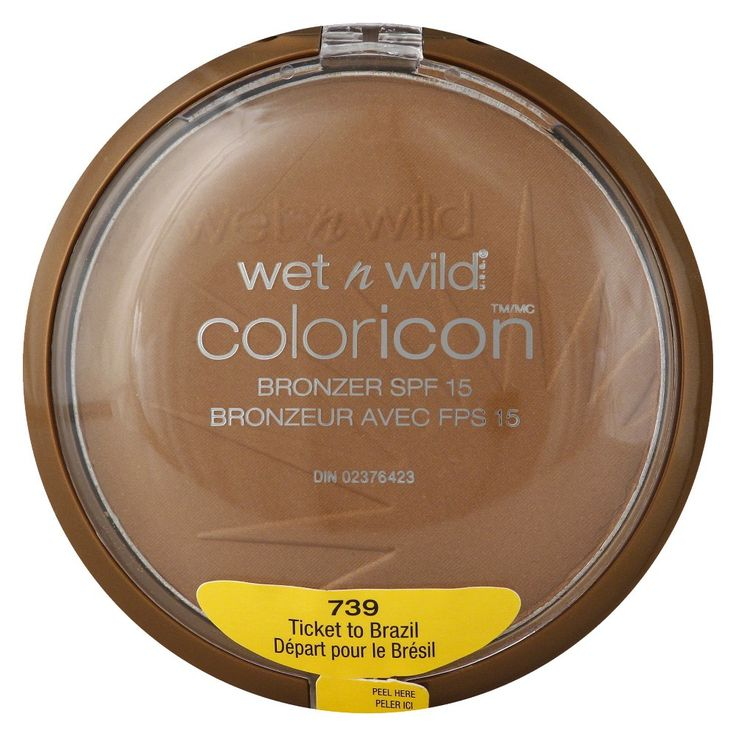 Wet n Wild Color Icon Bronzer - Ticket to Brazil, Brown