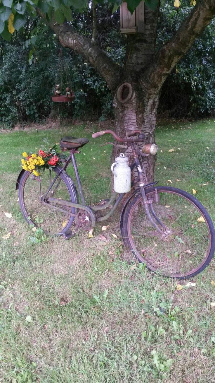 Unser altes Fahrrad vom Flohmarkt <3